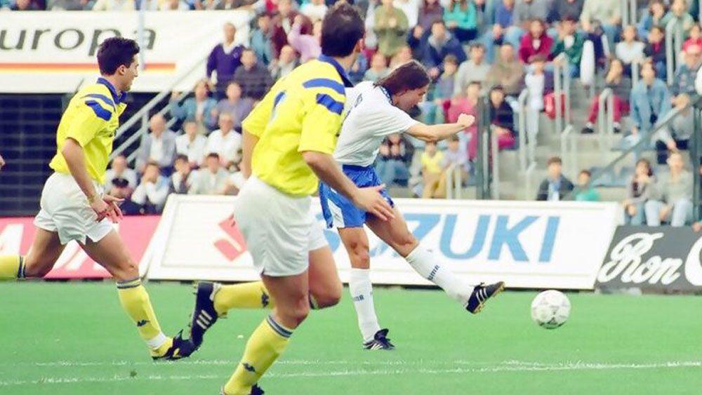 Se cumplen 25 años del brillante triunfo del CD Tenerife ante la Juventus en Copa de la UEFA