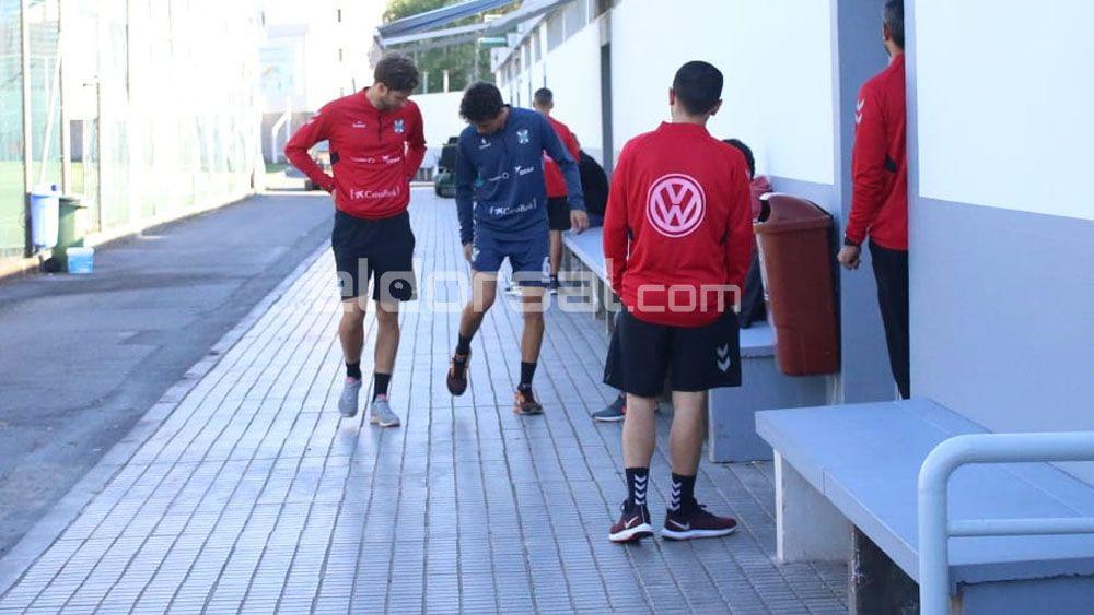 Luis Milla, seria duda en el CD Tenerife para disputar el derbi canario