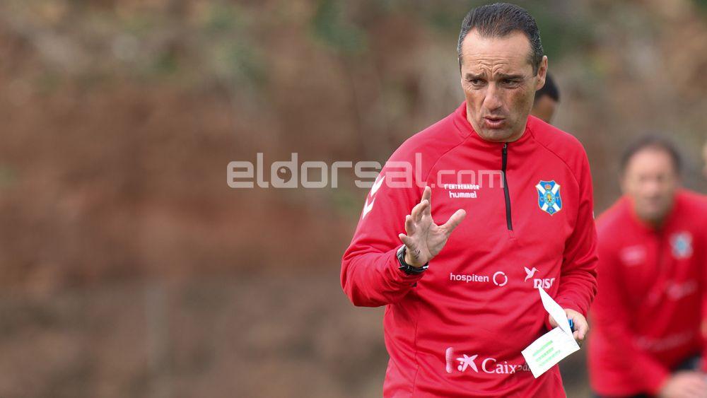 """José Luis Oltra: """"El CD Tenerife va a ir a más"""""""