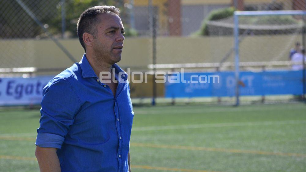 El sentido mensaje de Pier para las jugadoras de la UDG Tenerife