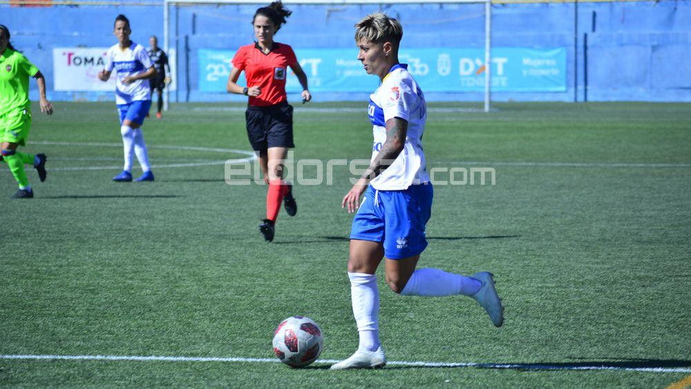 María José lidera la victoria de la UDG Tenerife en Logroño
