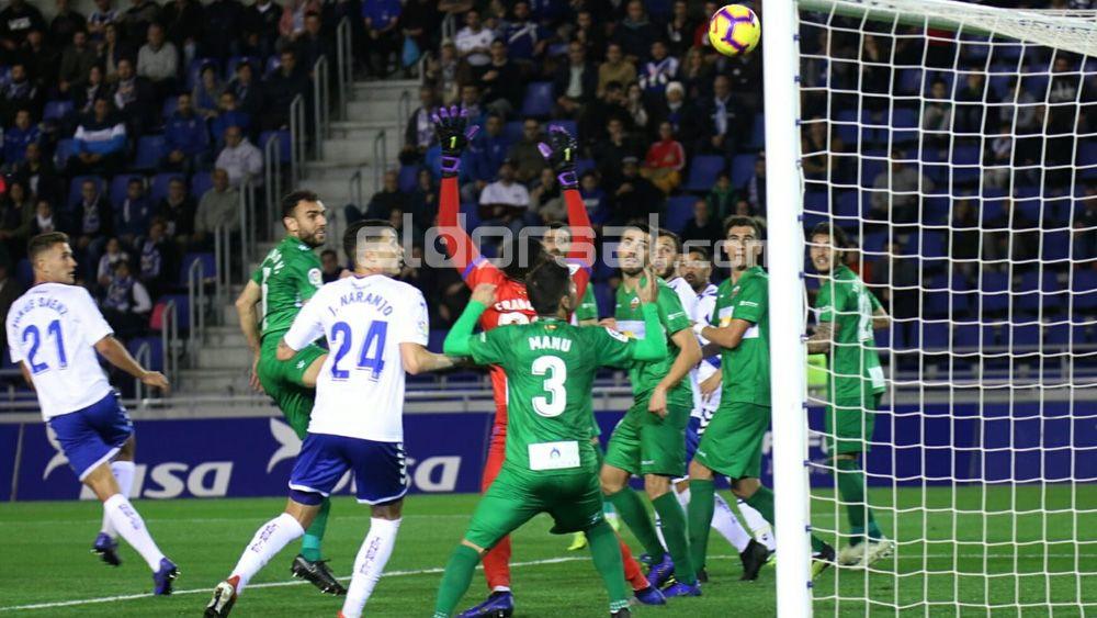 Así dio Jorge Sáenz la victoria al CD Tenerife ante el Elche