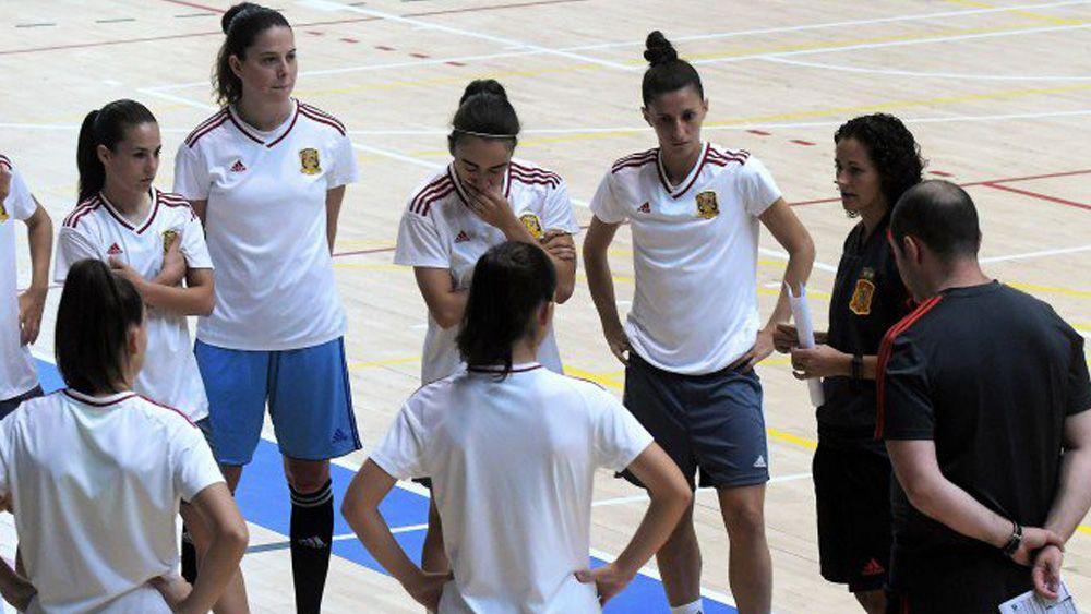 La selección española de fútbol sala femenino se concentra en Tenerife