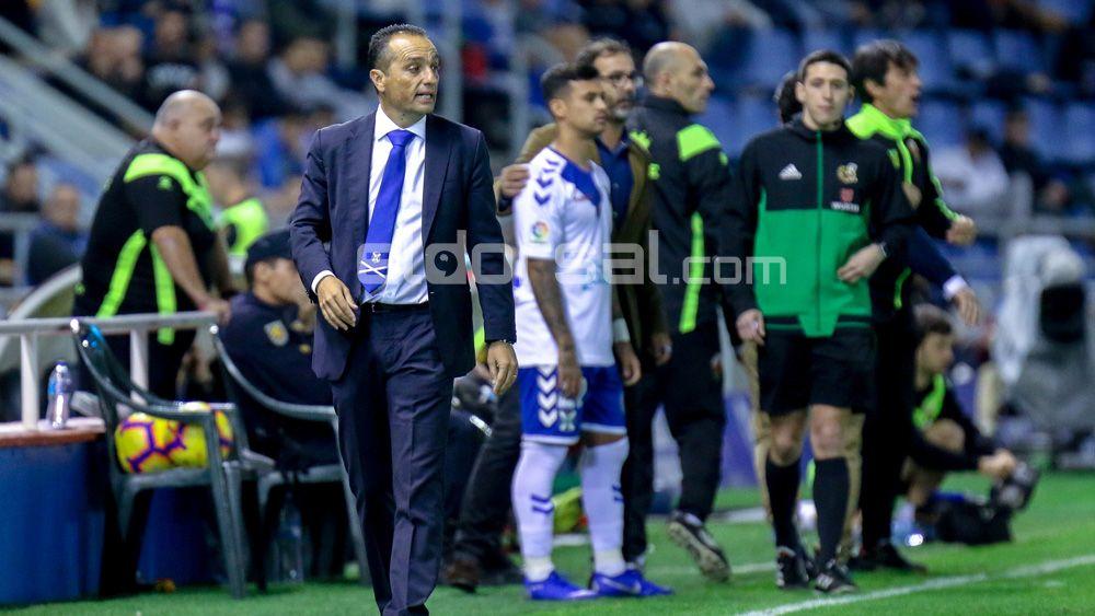 El CD Tenerife podría repetir once por primera vez esta temporada