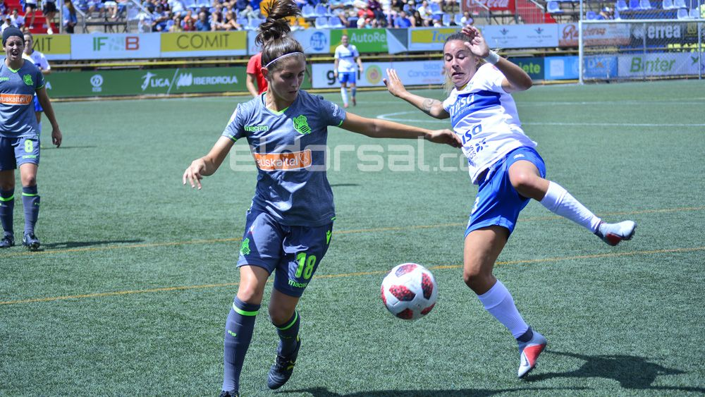 La UDG Tenerife retoma la competición ante una motivada Real Sociedad