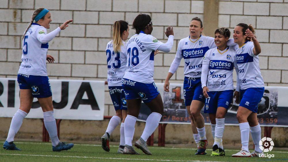 Así logró la UDG Tenerife su octava victoria de la temporada