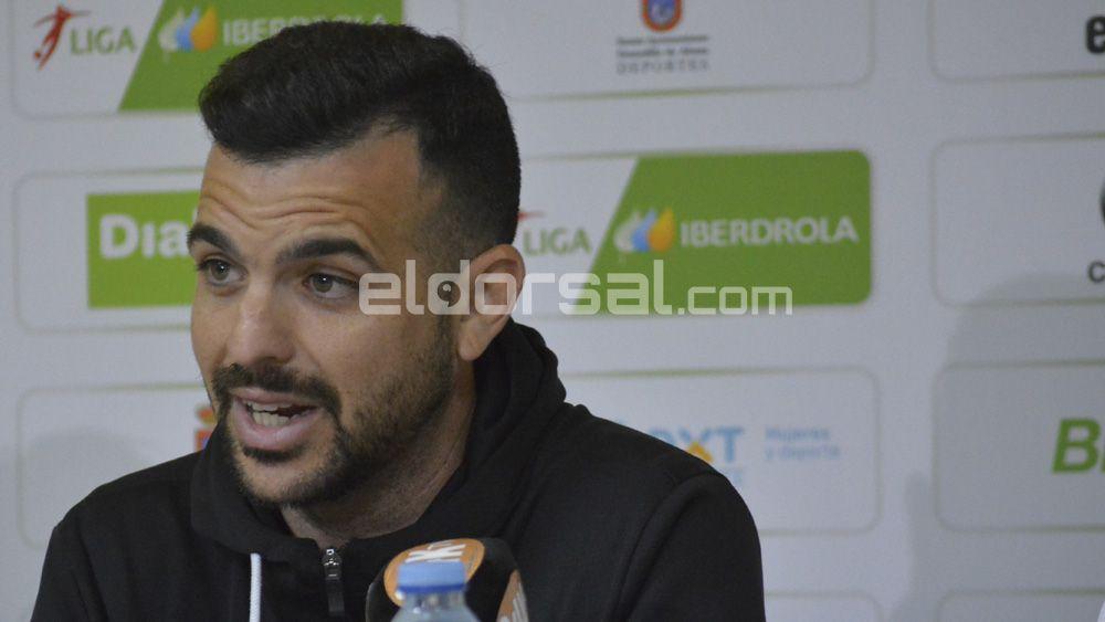 """José Herrera: """"La UDG Tenerife es garra, entrega y pasión"""""""
