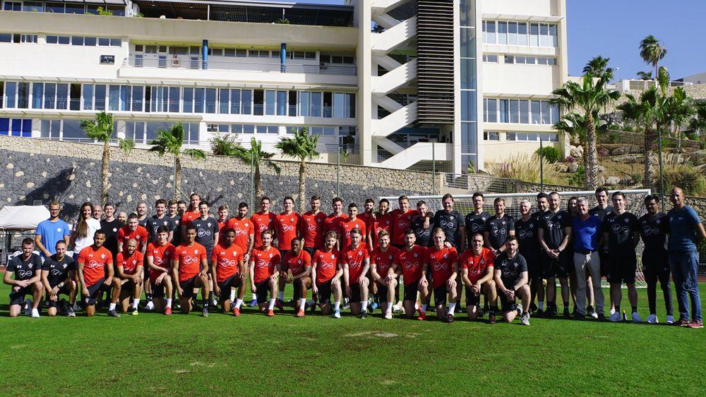 El Southampton FC de Premier League también elige el Tenerife Top Training