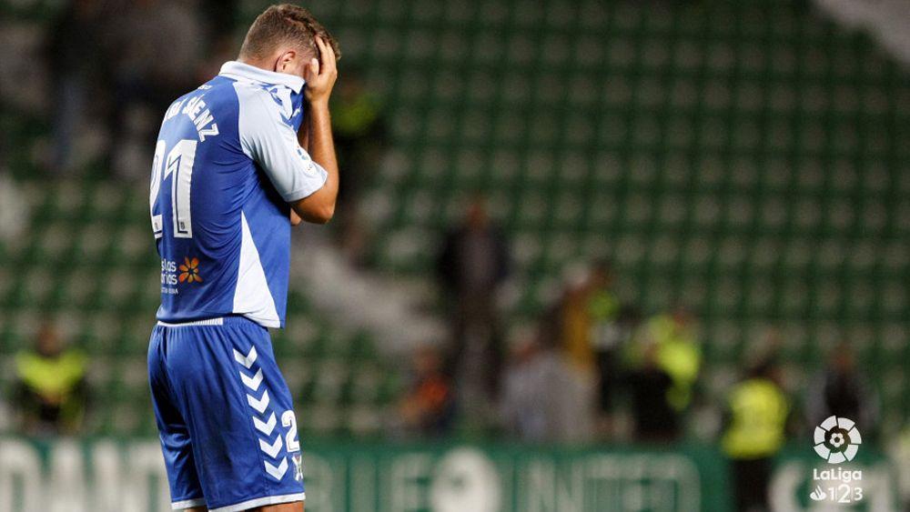 Jorge se lamenta de la derrota en Elche / @LaLiga