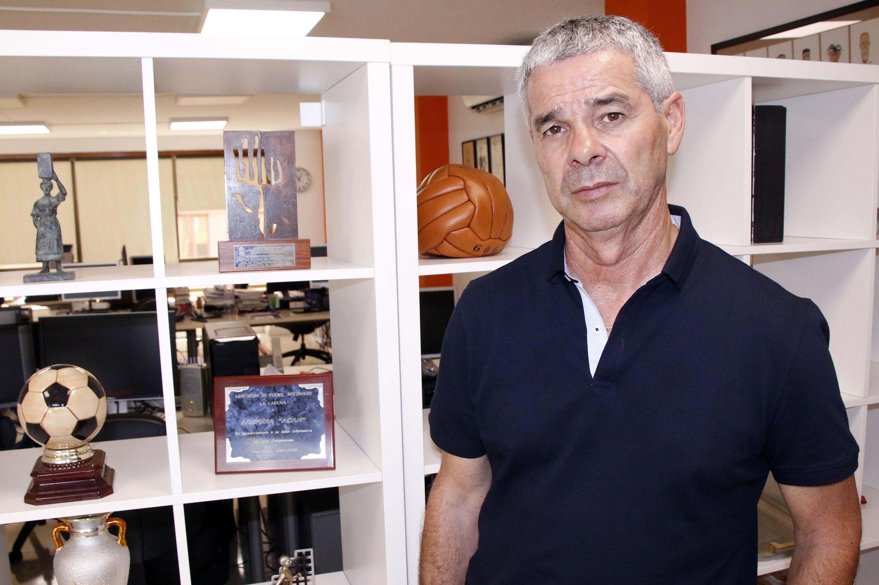 David Amaral, técnico de la UDG Tenerife