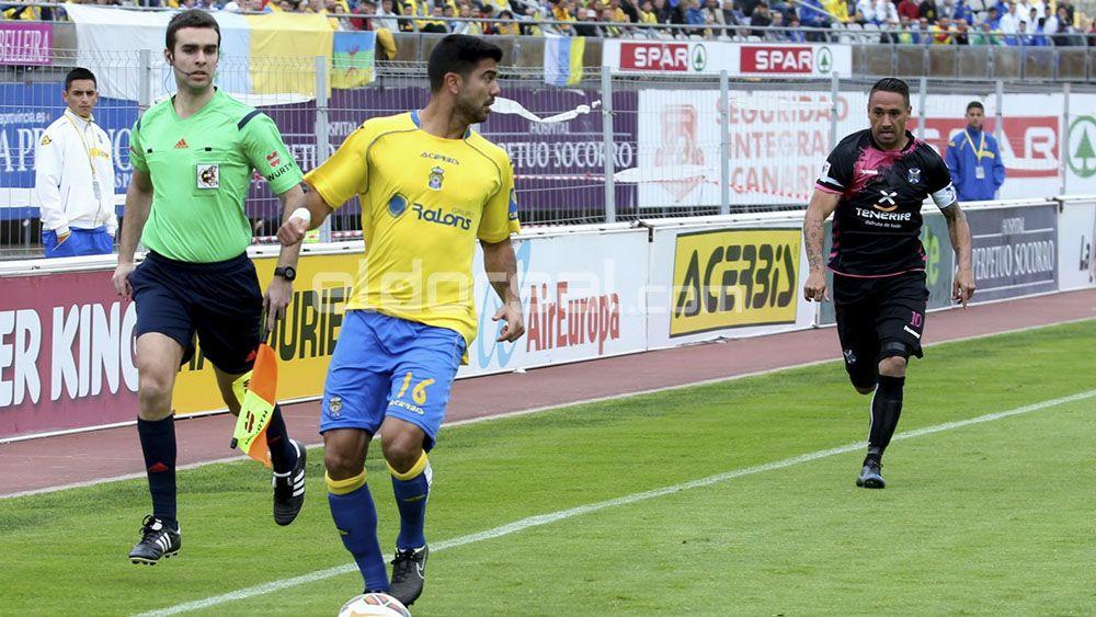 Aythami Artiles UD Las Palmas derbi canario