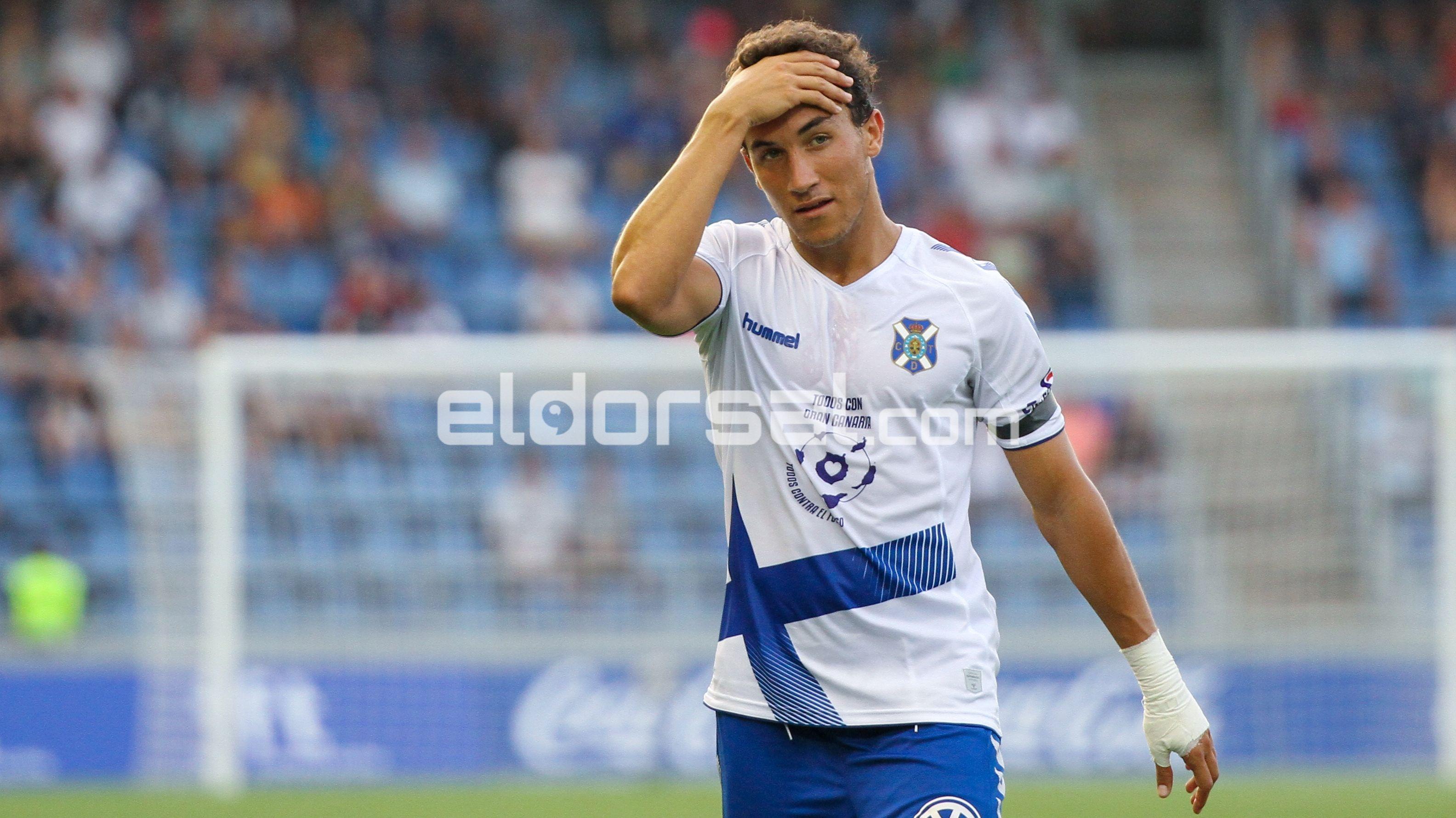 Luis MIlla CD Tenerife lamento