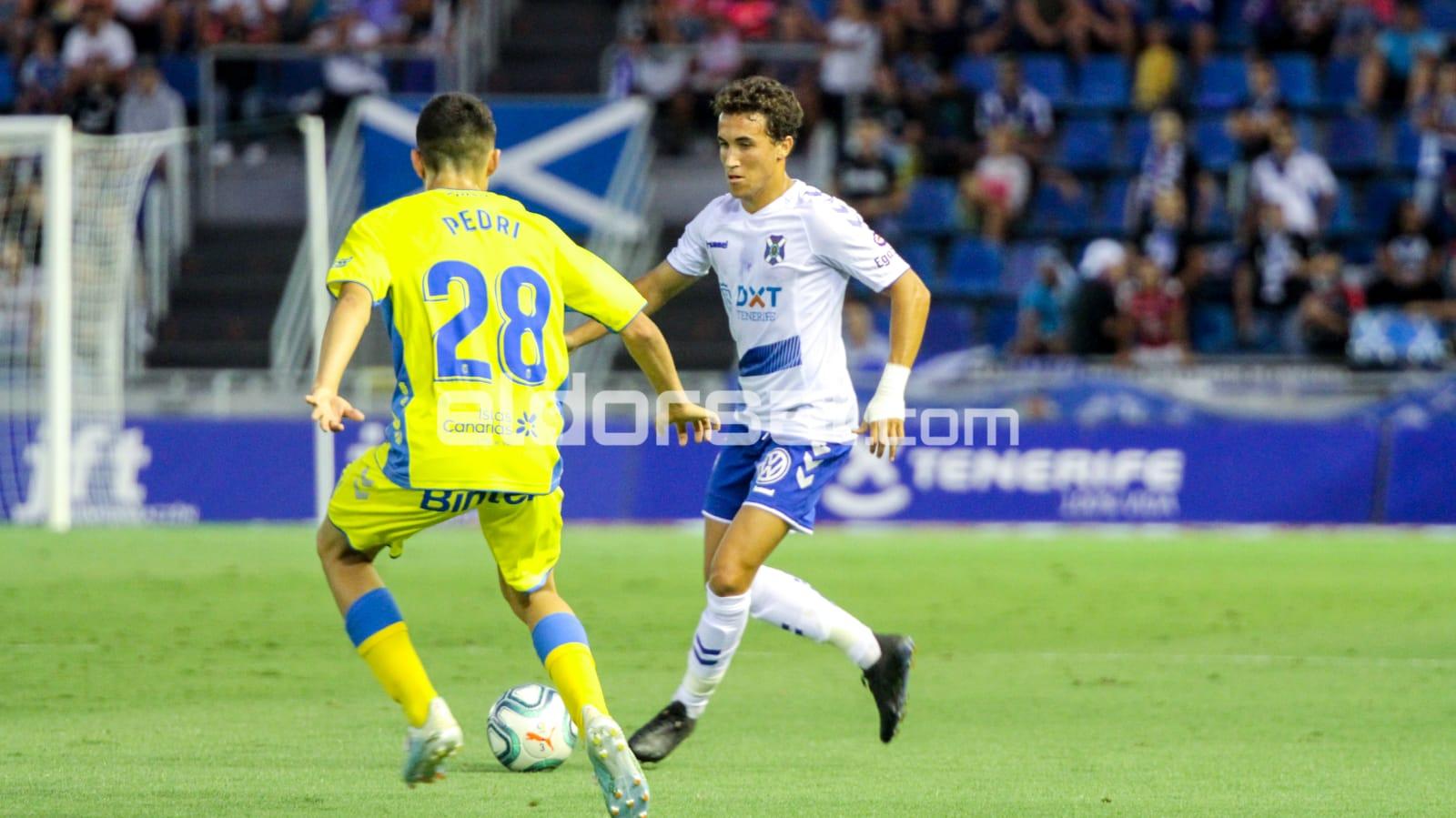 Luis Milla, jugador del CD Tenerife / @jacfotografo