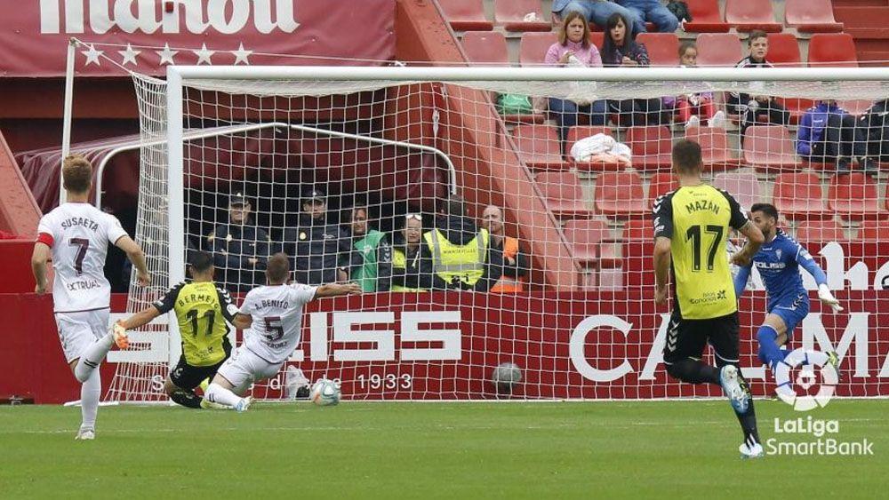 Bermejo Gol CD Tenerife en Albacete