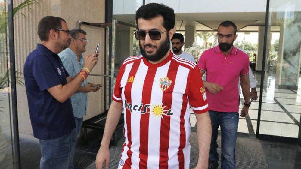 Turki Al-Sheikh jeque Almeria