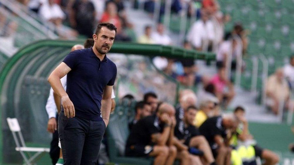 Lopez Garai CD Tenerife ante el Elche CF