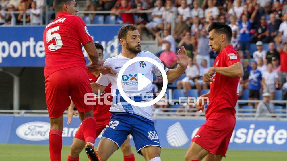 Resumen CD Tenerife - CF Fuenlabrada
