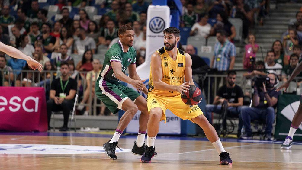 Dani Diez Iberostar Tenerife Unicaja Málaga | ACB Photo / M. Pozo