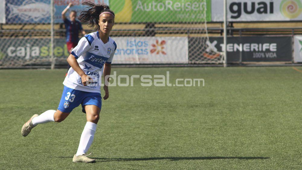 Paola Hernández UDG Tenerife sub 19