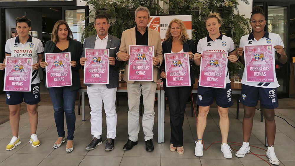 UDG Tenerife presentación partido
