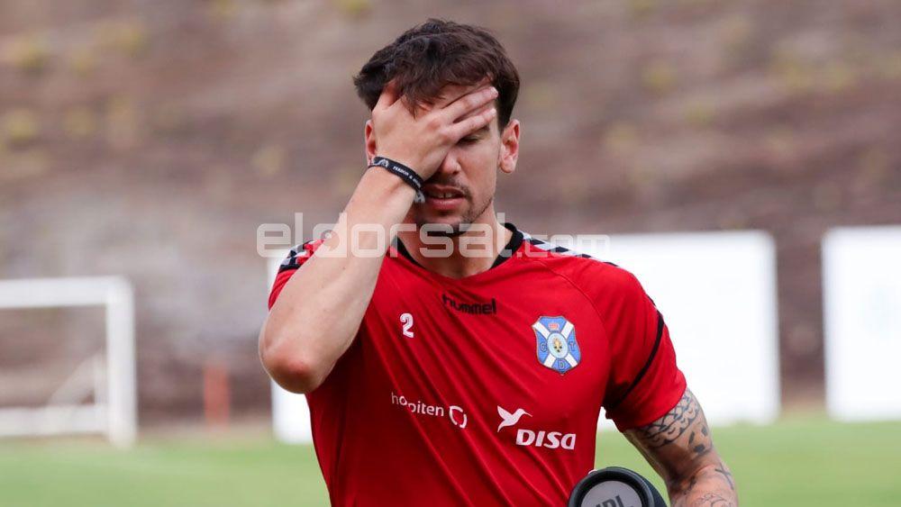 Luis Pérez CD Tenerife lamento