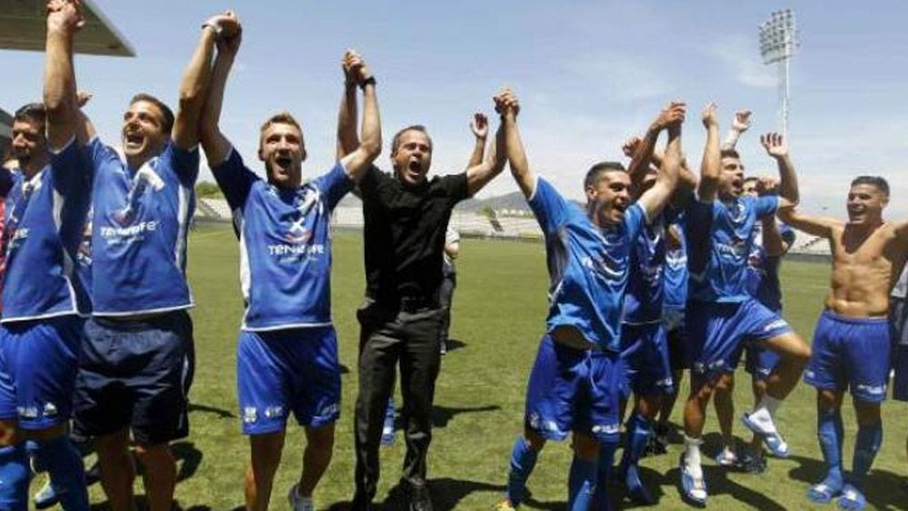 CD Tenerife ascenso Hospitalet Segunda División