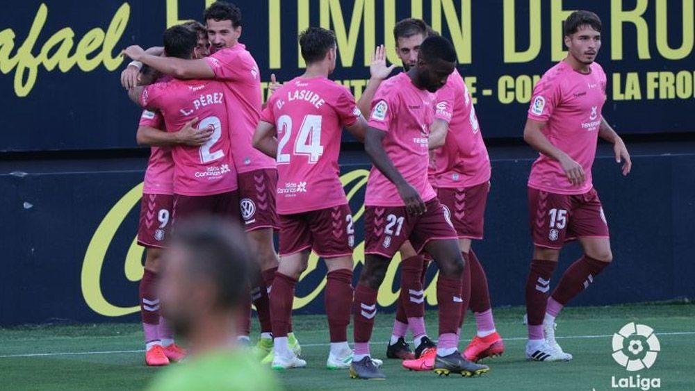 gol Dani Gómez celebración Cádiz CF CD Tenerife