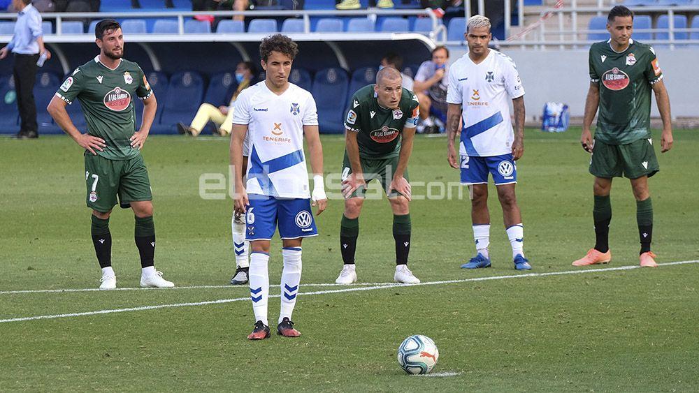 Luis Milla penalti CD Tenerife RC Deportivo