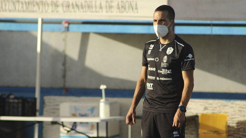 Pablo Borges Preparador físico UDG Tenerife
