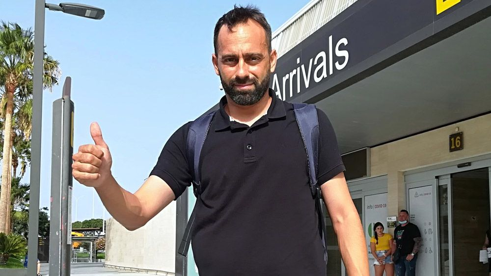 Fran Fernández CD Tenerife llegada