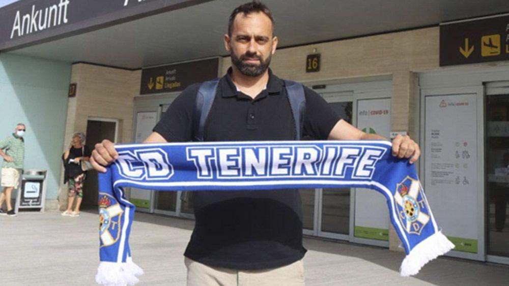 Fran Fernández llegada CD Tenerife