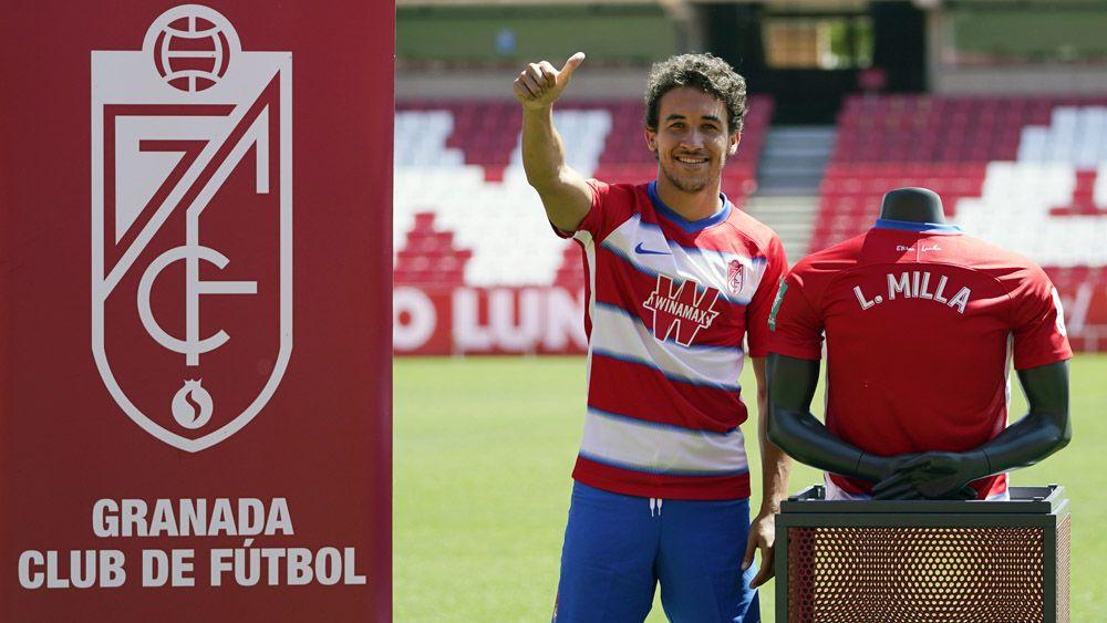 Luis Milla presentación Granada CF