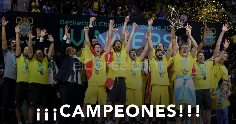 Iberostar Tenerife campeón de la Basketball Champions League