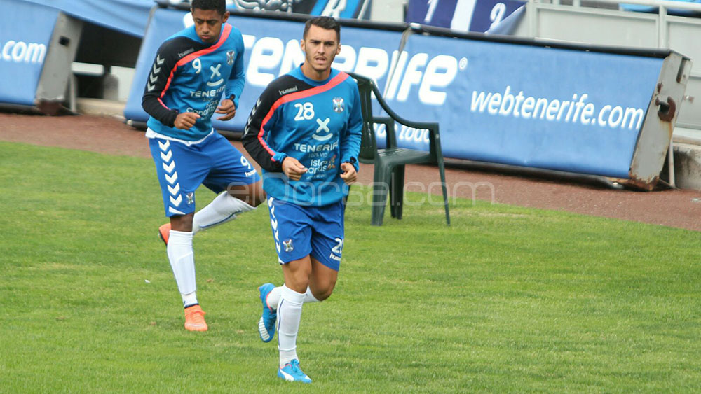 Thierry Moutinho vuelve al Heliodoro para enfrentarse al CD Tenerife