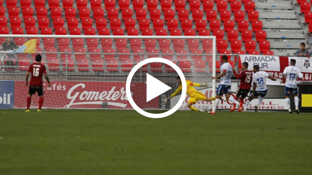 Jouini, gol CD Tenerife, Anduva