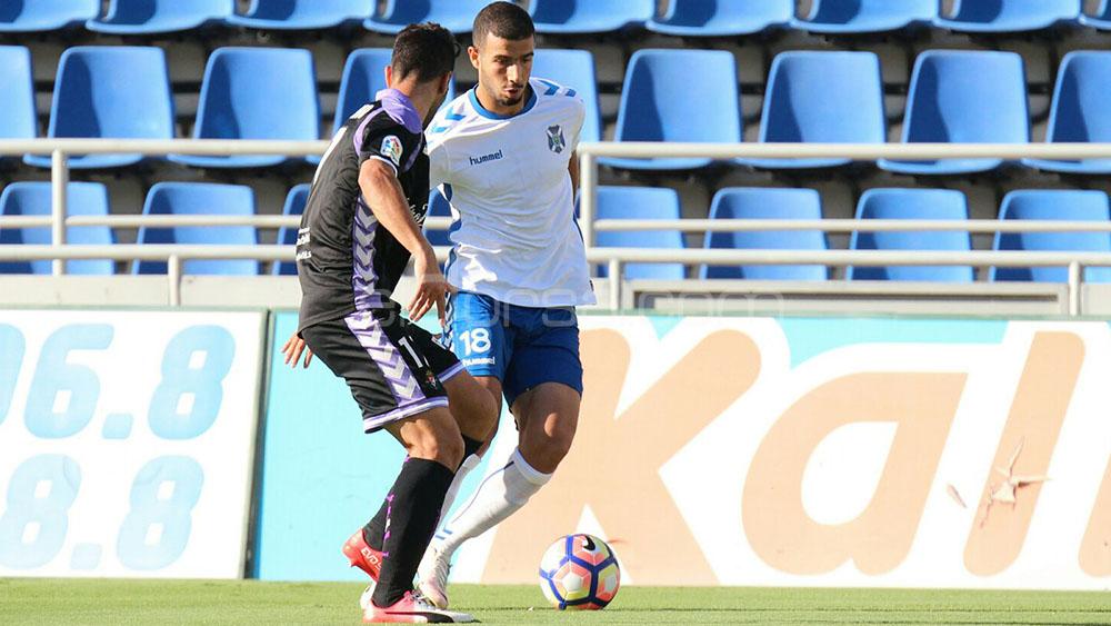 Haythem Jouini, elegido mejor jugador del CD Tenerife en Anduva