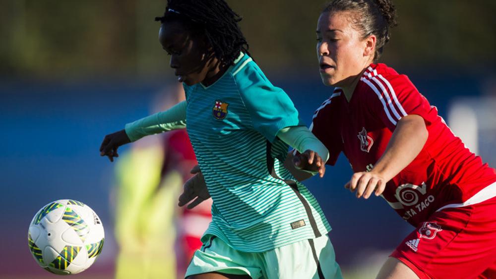 La UD Tacuense cede ante el poderío ofensivo del FC Barcelona