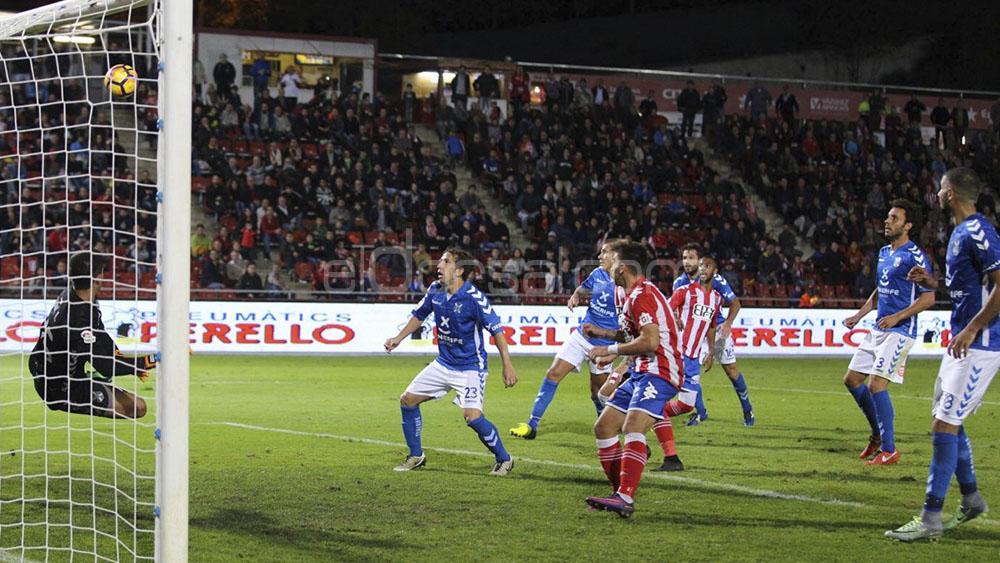 El gol de Amath y el balón al larguero de Álex en el Girona – CD Tenerife