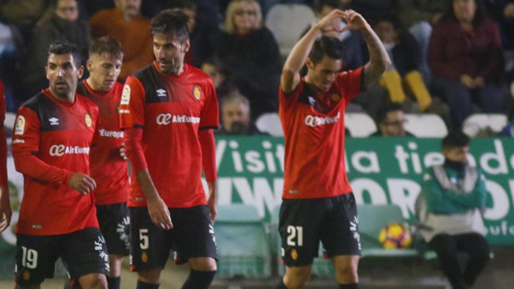La gran definición de Moutinho en el Córdoba – Mallorca