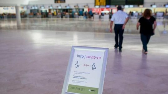 aeropuerto tenerife norte covid