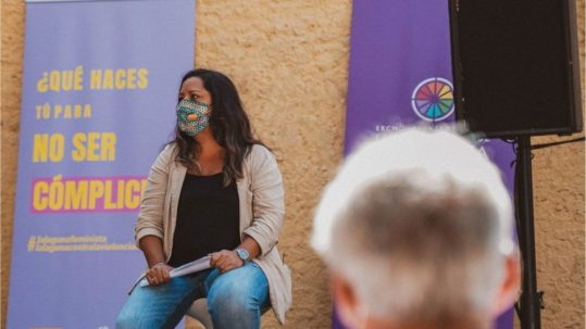 Idaira Afonso campaña violencia machista