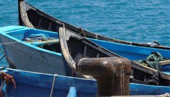 una patera llegó a la costa de HAría, Lanzarote