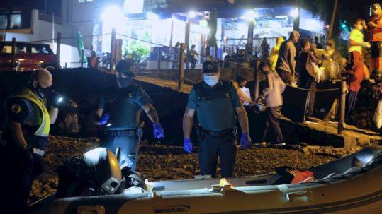 inmigracion cayucos guardia civil