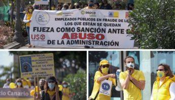 manifestacion empleados públicos