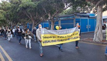 manifestacion empleados publicos