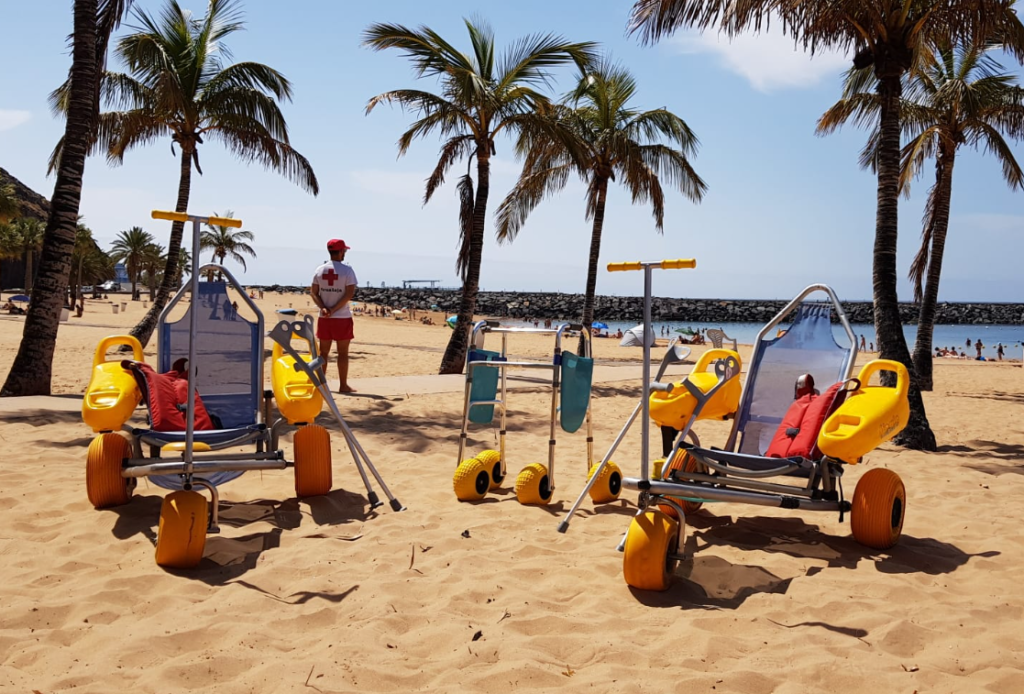 Cruz Roja vigila las playas