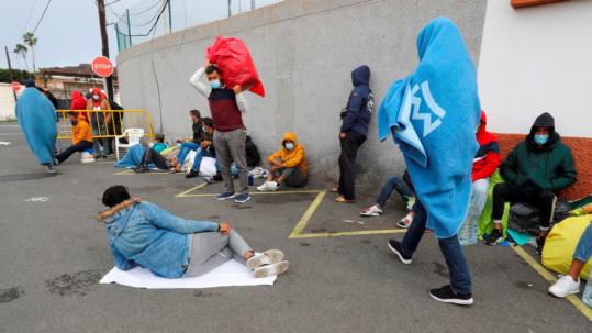 migrantes irregulares