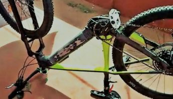 "Se ""mamaron"" la bici..."