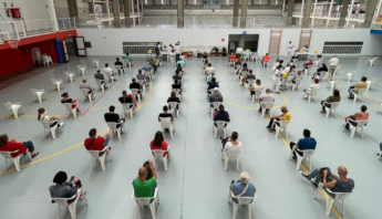 Canarias supera el millón de residentes con al menos la primera vacuna