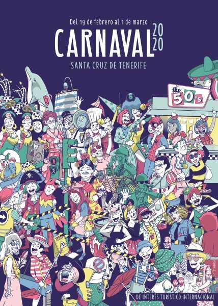 cartel de l carnaval santa cruz